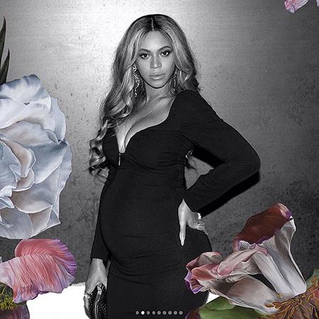 Беременная двойней Бейонсе показала, каким огромным стал ее живот! Фото
