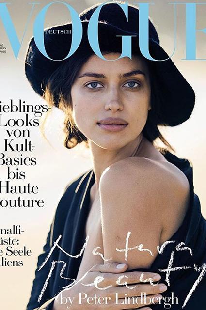 Ирина Шейк без капли косметики появилась на обложке Vogue! Фото