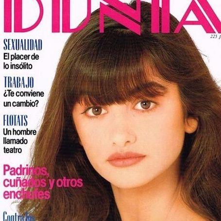 Пенелопа Крус показала, какой красоткой она была в 14 лет! Фото