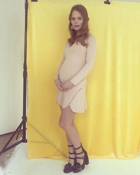 Беременная Ольга Фреймут рассказала, когда она станет мамой. Фото