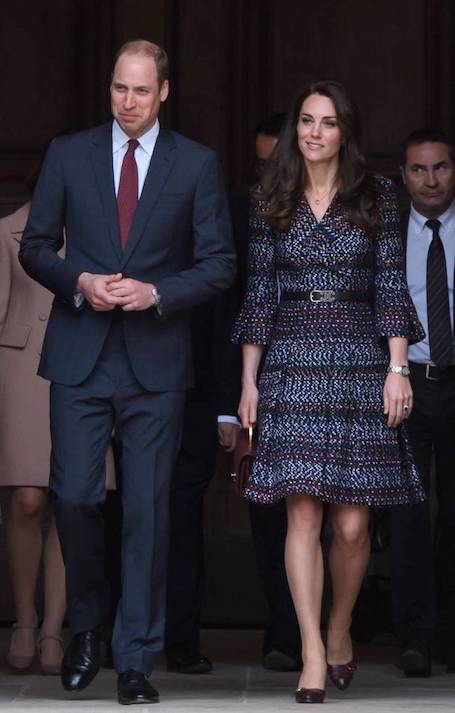 Первый выход принца Уильяма и Кейт Миддлтон после скандала. Фото