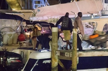 Дженнифер Лопес и Алекс Родригес показали силу своей любви на борту яхты. Фото