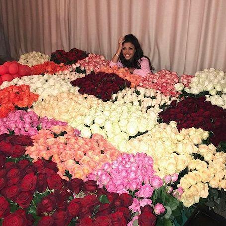 Санта Димопулос получила от таинственного поклонника миллион роз! Фото