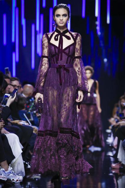 Неделя Моды в Париже: невероятные платья от Elie Saab. Фото