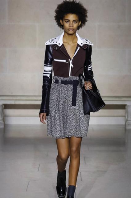Неделя моды в Париже: царство кожи на показе Louis Vuitton. Фото