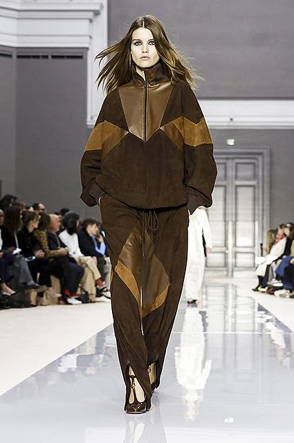 Неделя моды в Париже: показ Chloe сезона осень-зима. Фото