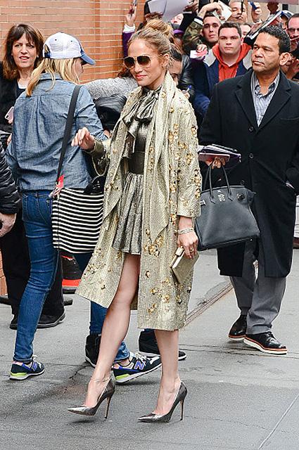 Три модных образа Дженнифер Лопес для уикенда в Нью-Йорке. Фото