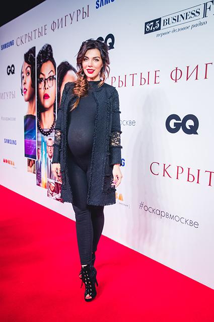 Беременная Анна Седокова показала огромный живот на премьере фильма. Фото
