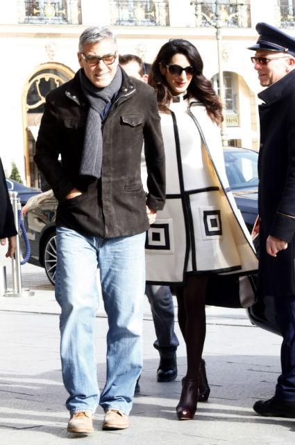 Джордж и Амаль Клуни устроили себе небывалые романтические выходные в Париже! Фото