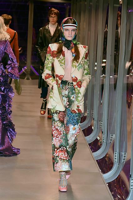 Неделя моды в Милане: волшебные сады алхимика от Gucci. Фото