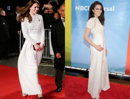 Невеста принца Гарри копирует стиль Кейт Миддлтон! Фото