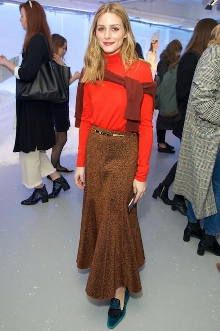 Оливия Палермо представила 2 модных образа в стиле шик. Фото