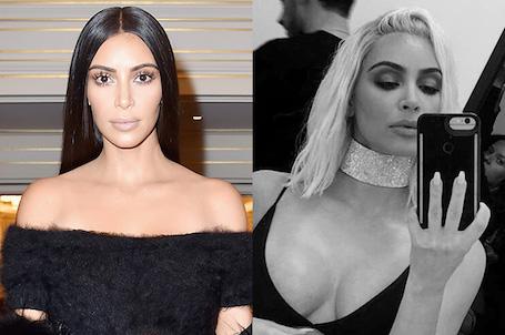 Ким Кардашьян изменила имидж и превратилась в блондинку! Фото