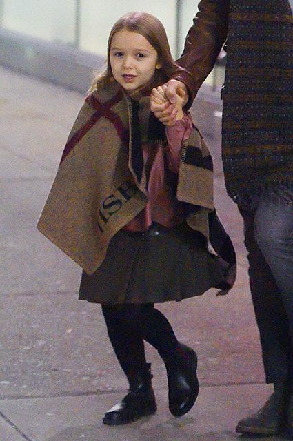 Маленькая Харпер - главная модница в семье Бекхэмов. Фото