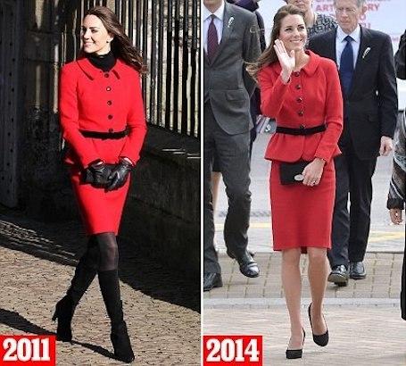 Совсем худышка: Кейт Миддлтон с каждым годом теряет вес! Фото
