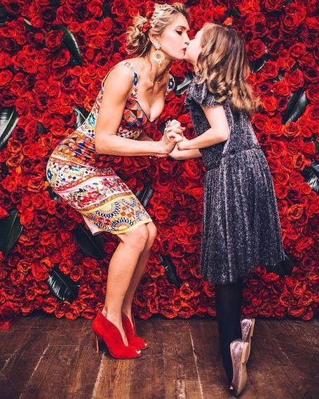 Вера Брежнева и ее младшая дочь Сара примерили одинаковые балетные пачки! Фото