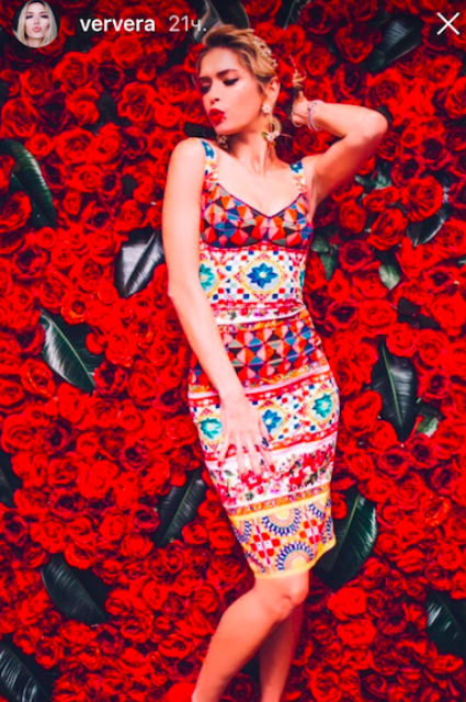 Вера Брежнева превратилась в жгучую итальянскую красотку в день своего 35-летия! Фото