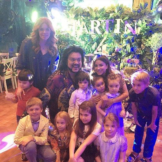 Филипп Киркоров с размахом отпраздновал день рождения сына