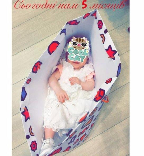Тоня Матвиенко опубликовала новую фотографию младшей дочери