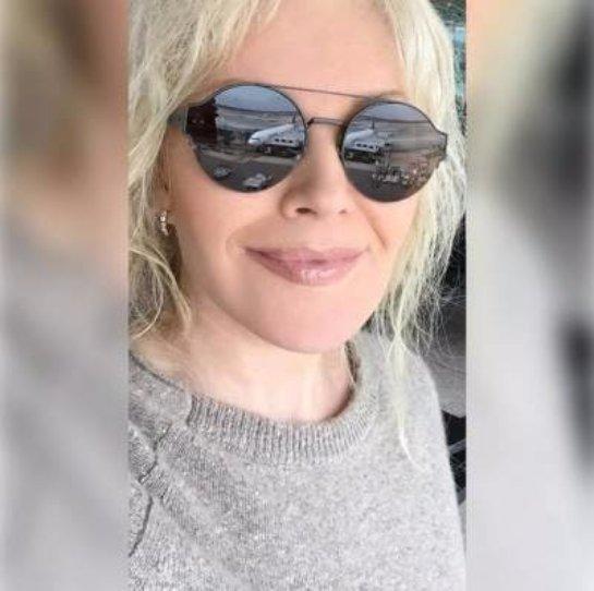Таисия Повалий показала селфи в стильных очках