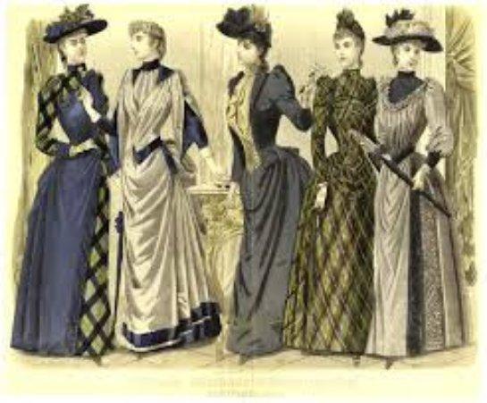 Мода в России в середине 19го века