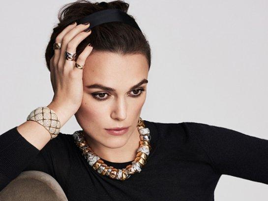 Красотка Кира Найтли снялась для Chanel