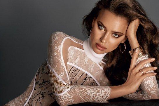 Ирина Шейк снялась в фотосессии для издания Glamour Russia