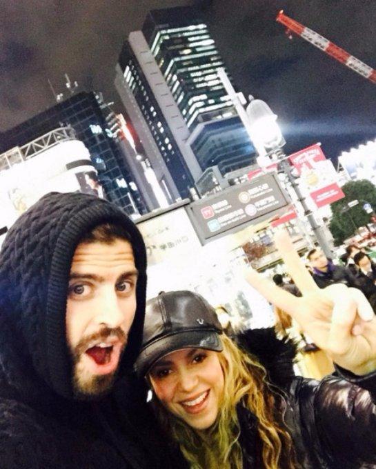 Шакира показала, как она провела зимний отпуск