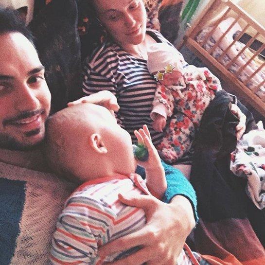 Муж Славы Каминской опубликовал милое семейное фото