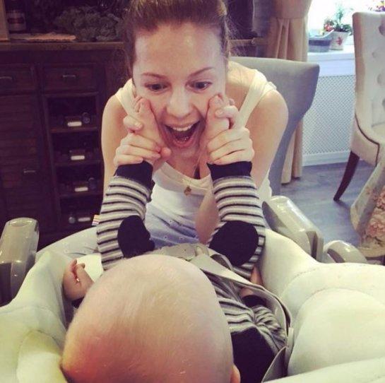 Наталья Подольская показала новое фото с сыном
