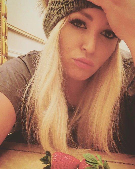 Ирина Дубцова стала блондинкой