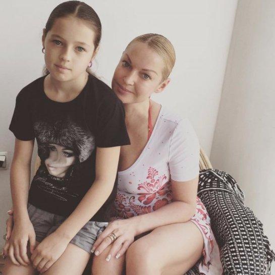 Анастасия Волочкова мечтает, чтобы дочь покорила Евровидение