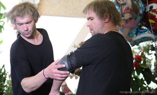 Максим Аверин сам выполнил трюки на съемках нового фильма