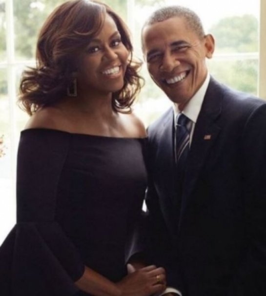Барак Обама с женой снялся в романтической фотосессии