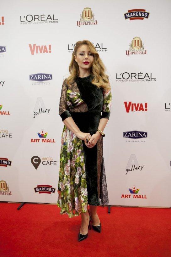 Тина Кароль произвела фурор на вечеринке в честь дня рождения «Viva!»
