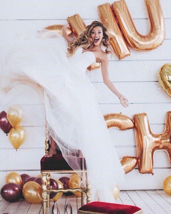 Регина Тодоренко примерила подвенечное платье