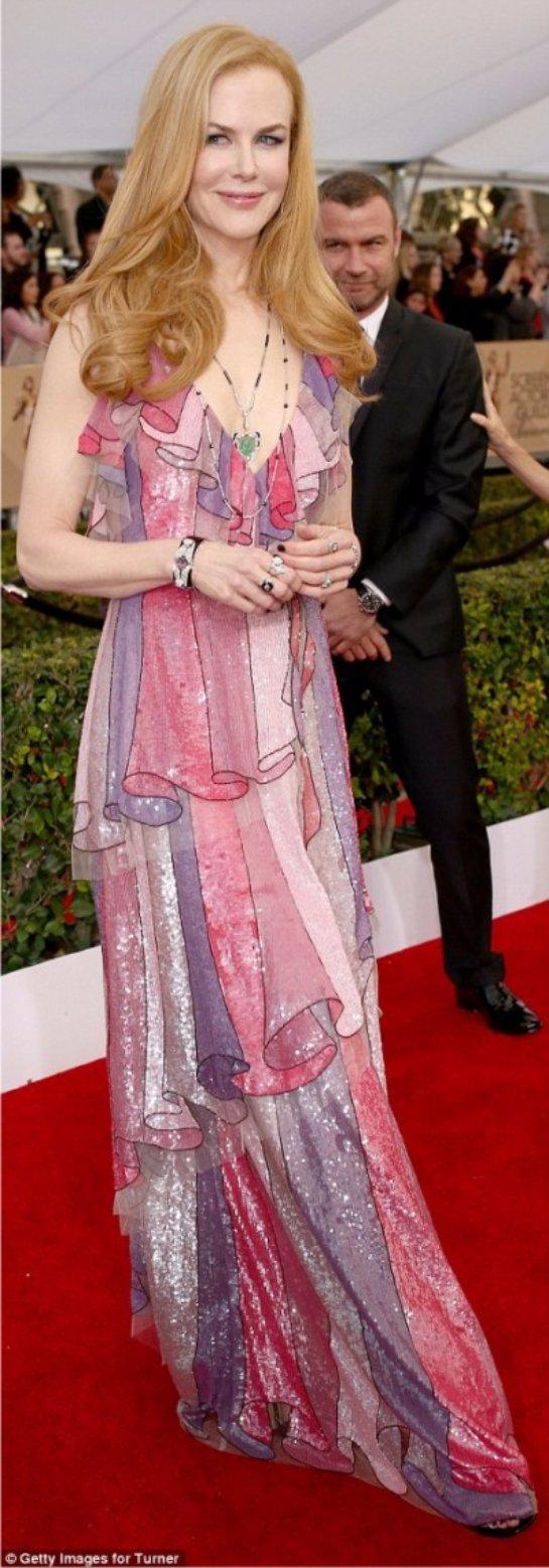 Николь Кидман очаровала публику своим появлением в роскошном наряде