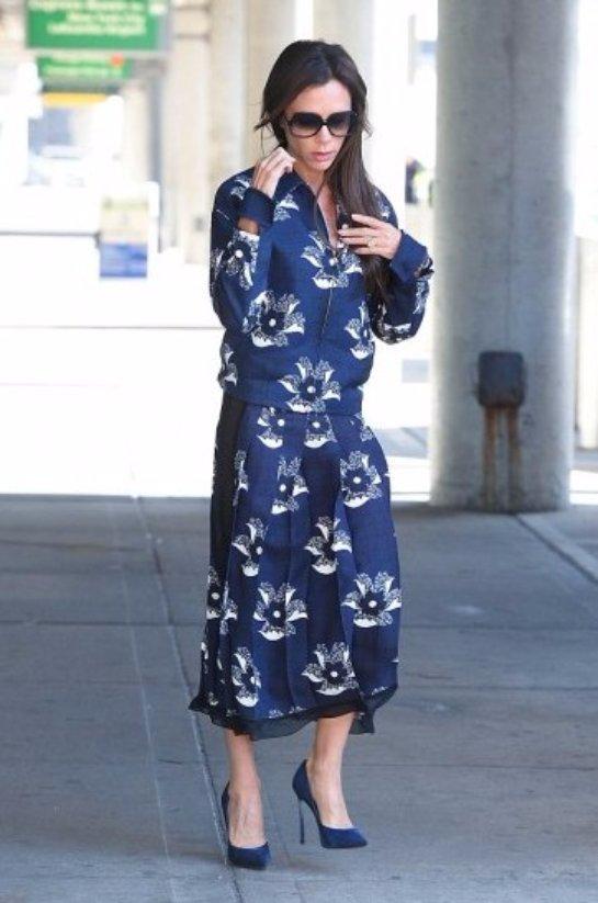 Викторию Бекхэм раскритиковали за неудачный выбор наряда