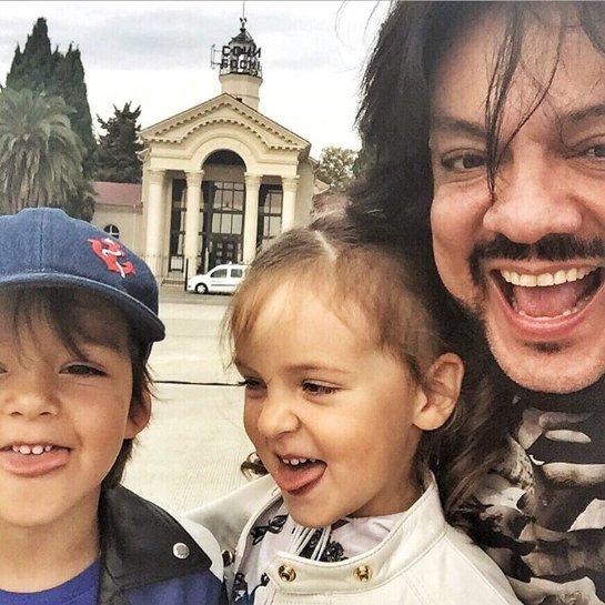 Филипп Киркоров не хочет, чтобы его дети росли на современных мультиках