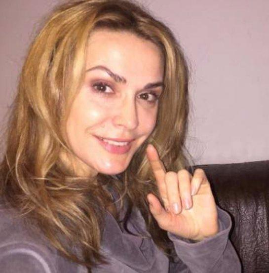 Ольга Сумская показала фото без макияжа