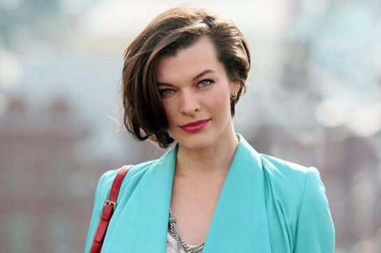 Актриса Милла Йовович отмечает 40-летие