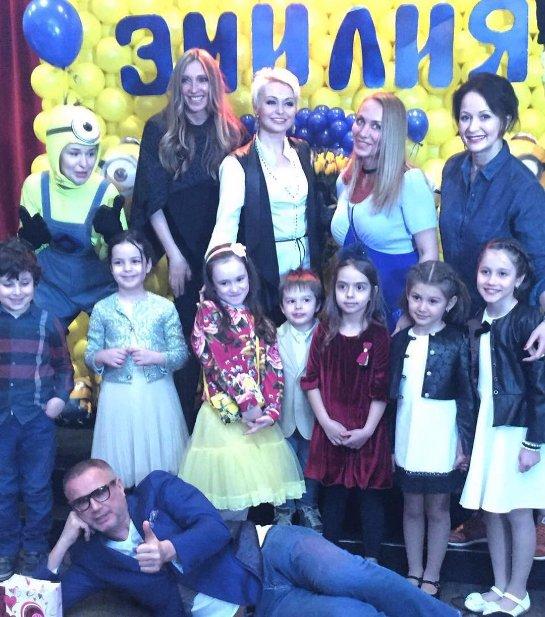 Катя Лель с размахом отпраздновала 7-летие дочери
