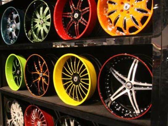 Порошковая краска для обработки автомобильных дисков