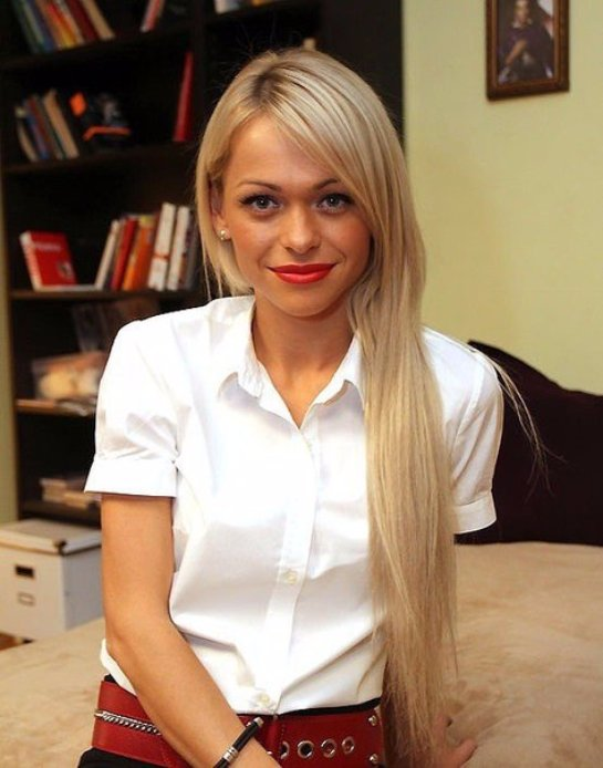 Анна Хилькевич хочет, чтобы дочь учила английский язык