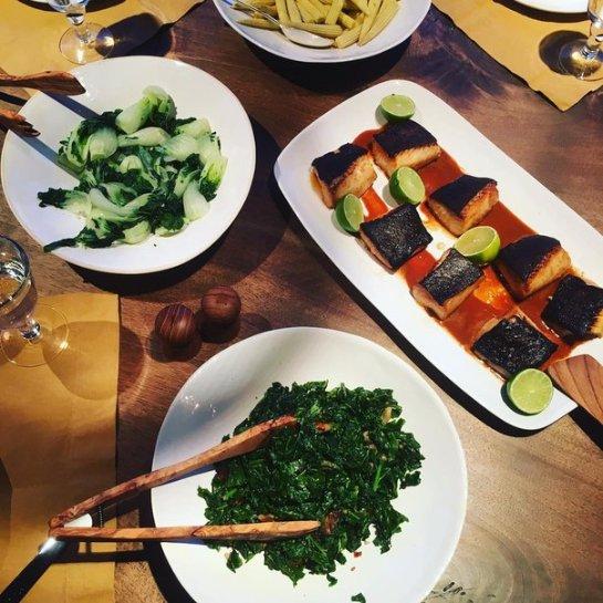 Ксения Собчак показала здоровый ужин