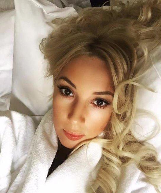 Лера Кудрявцева сделала постельное селфи