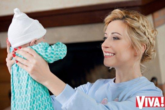 Тоня Матвиенко с дочкой Ниной позировали для журнала Viva!