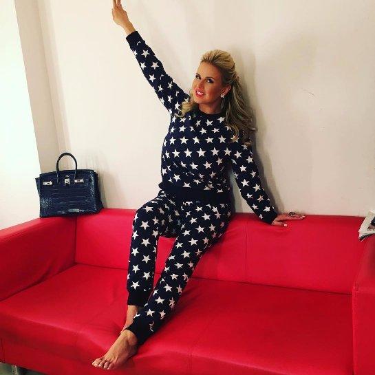 Анну Семенович раскритиковали за новый наряд