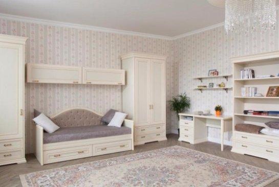Модульная мебель для гостиной и кровати в Москве