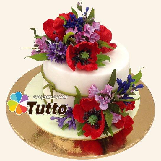 Оформить свадебный торт на заказ